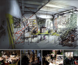 Cinzia Fossati | set design | film | Unverwundbar | Felice Goetze