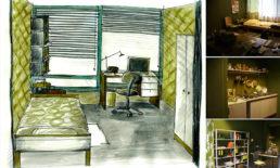Cinzia Fossati   set design   film   Desperados on the block   Tomasz Rudzik