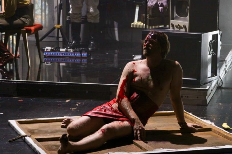Cinzia Fossati   costumes   Chelsea Hotel   director Sebastien Jakobi   Staatstheater Stuttgart   Kammertheater
